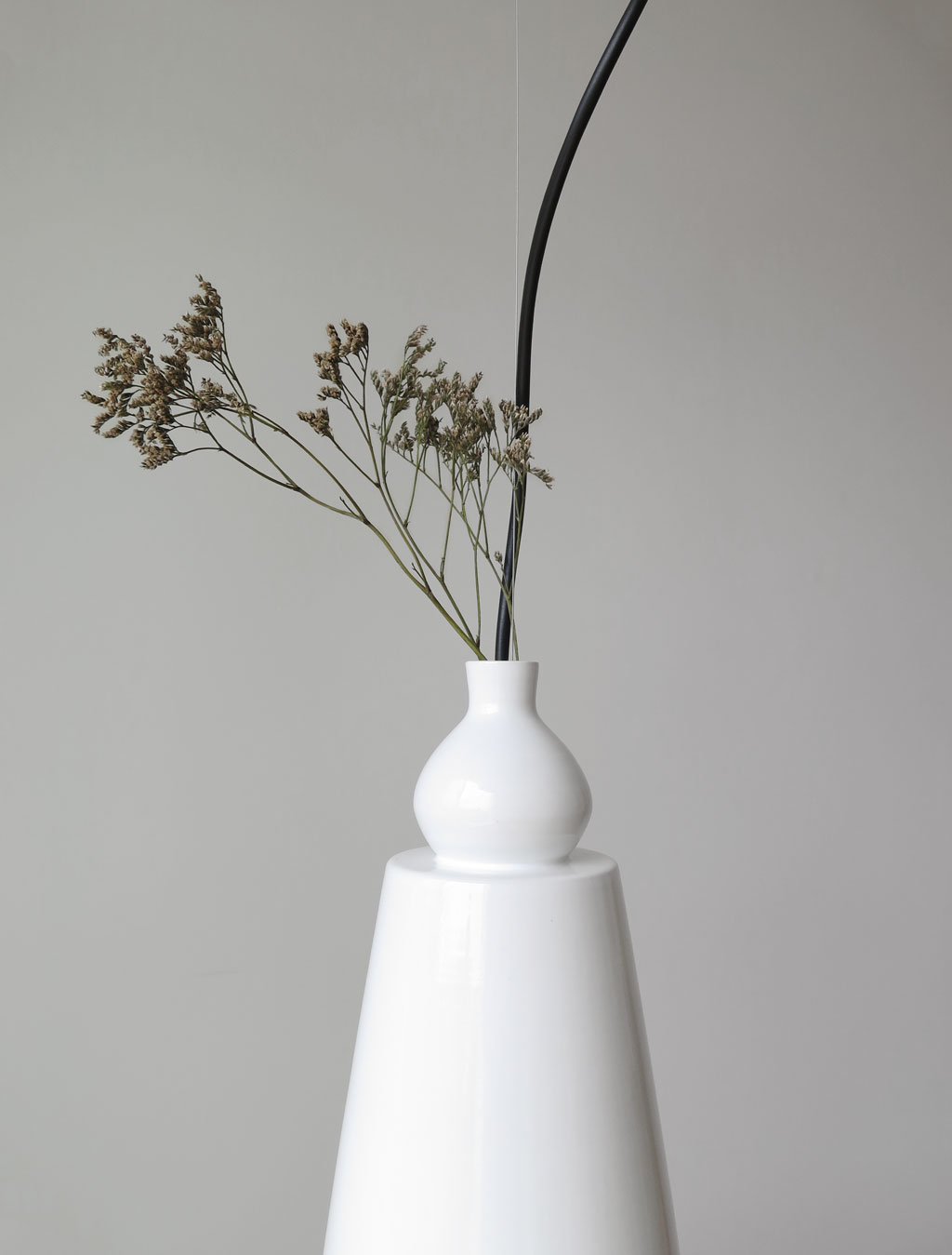 Vase lamp designed by Martin Azua for Numbered